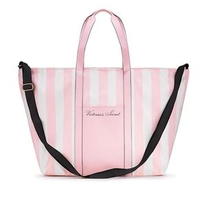 Victoria's Secret Striped Weekender Tote [NWT]